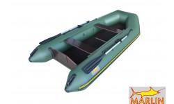 Надувная лодка ПВХ Marlin 320SL+ (зелёный)
