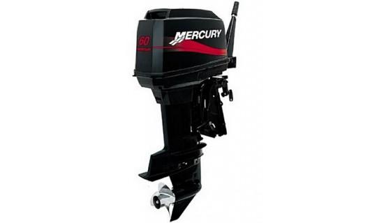 Двухтактный мотор лодочный подвесной Mercury 60 ЕО