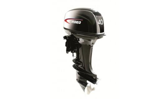 Двухтактный мотор лодочный подвесной Hidea HD 40FES