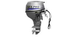 Четырехтактный мотор лодочный подвесной SEA-PRO F 15 S&E
