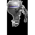 Четырехтактный мотор лодочный подвесной SEA-PRO F 15S&E