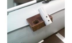 Универсальный крепежный блок с держателем для двух удочек