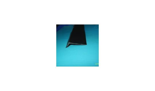 Профиль Г-образный (защита транца снизу), уголковый ПВХ привал ( 1м.)