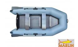 Надувная лодка ПВХ Marlin 290SL (серый)