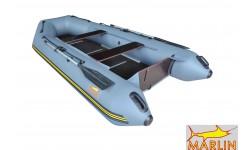 Надувная лодка ПВХ Marlin 320SLK (серый)