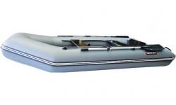 Надувная лодка Хантер 320 ЛК NEW (серый)