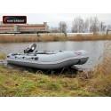 Надувная лодка ПВХ Хантер 360 (серый)