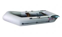 Надувная лодка ПВХ Хантер 280 Р (серый)