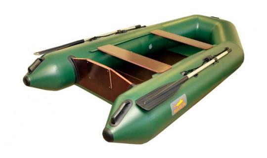 Надувная лодка ПВХ Marlin 290PL (зелёный)