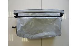 Накладка на банку с сумкой тандем серый 850*200мм