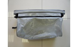 Накладка на банку с сумкой тандем серый 900*200мм