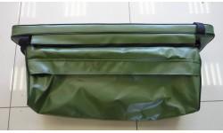 Накладка на банку с сумкой тандем зеленый 800*200мм