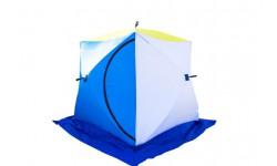 Палатка зимняя Стэк Куб-2 ДЫШАЩАЯ(двухместная/3 слоя)