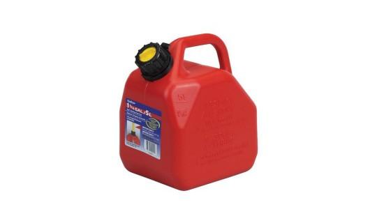 Канистра для бензина из антистатической пластмассы Scepter 5 литров
