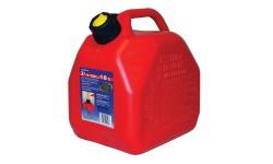 Канистра для бензина из антистатической пластмассы Scepter 10 литров