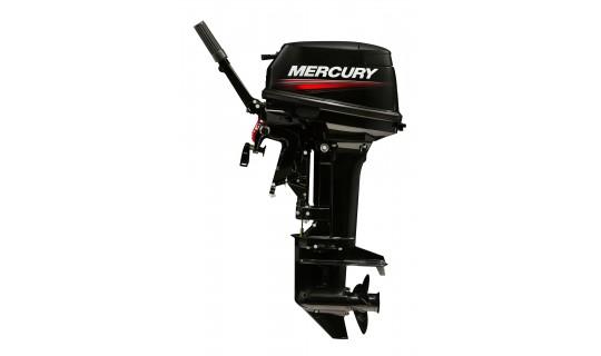 Двухтактный мотор лодочный подвесной Mercury 15MH (294cc))