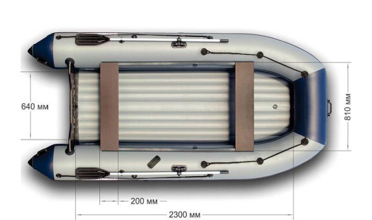 Лодка НДНД Групер 320
