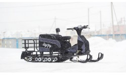 Мотобуксировщик Мухтар 15 с лыжным модулем