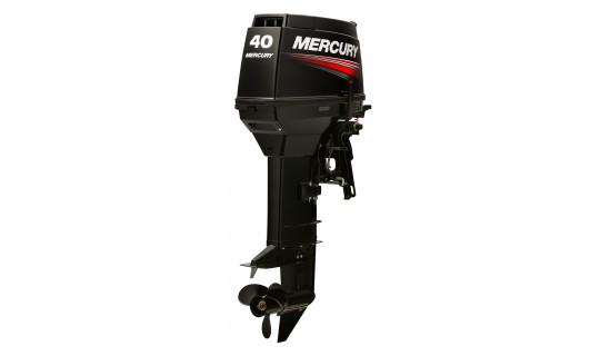 Двухтактный мотор лодочный подвесной Mercury 40ЕО