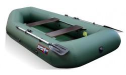 Надувная лодка ПВХ Хантер 280 New (зелёный)