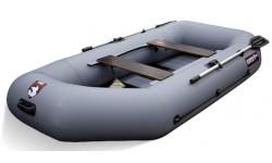 Надувная лодка ПВХ Хантер 280 New (Серый)