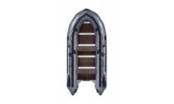 Надувная лодка ПВХ APACHE 3700 СК графит