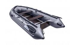Надувная лодка ПВХ APACHE 3500 СК графит