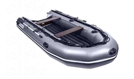 Надувная лодка ПВХ APACHE 3500 НДНД графит