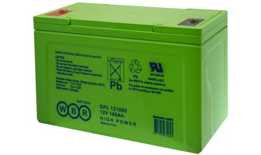 Аккумулятор WBR серии GPL 121000A