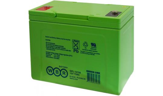 Аккумулятор WBR серии GPL 12750A