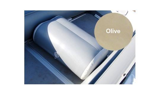 Сиденье надувное с перегородкой (76х44х33 см), Olive