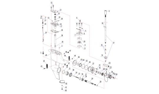 Прокладка сливного винта 15F-06.01.04