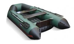 Надувная лодка Хантер 320ЛКА (зеленый)
