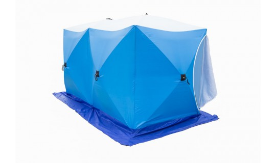 Палатка зимняя Стэк Куб-2 ДУБЛЬ (трехслойная)
