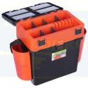 Ящик зимний Helios FishBox 19л, цвет оранжевый