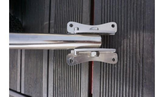 Транцевые колёса Стандартные Лайт с алюминиевой площадкой