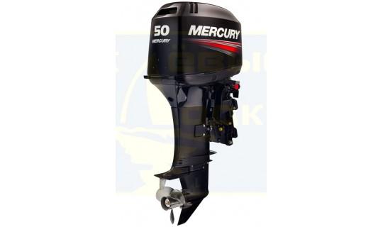 Двухтактный мотор лодочный подвесной Mercury 50 ЕО