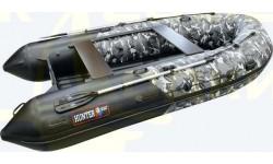 Надувная лодка ПВХ Хантер 380 ПРО КМФ