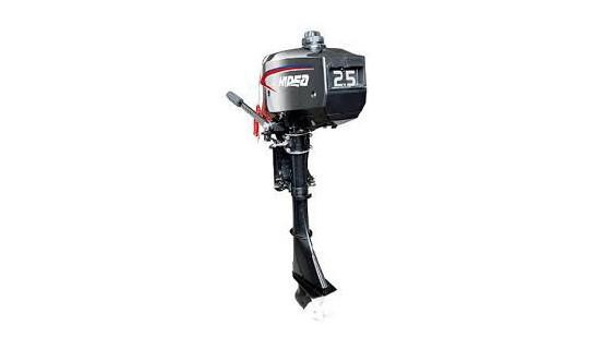Четырехтактный мотор лодочный подвесной Hidea HDF 2.5HS
