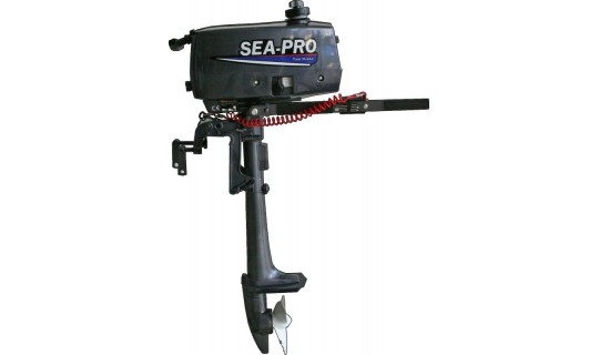Двухтактный мотор лодочный подвесной SEA-PRO Т 2.5S