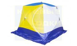 Палатка зимняя Стэк Куб-4 дышащая (Трехслойная)