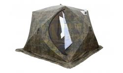 Палатка зимняя Стэк Куб-4 Камуфляж (Трехслойная)