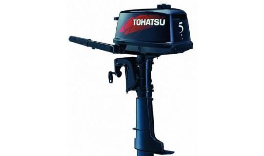 Двухтактный мотор лодочный подвесной Tohatsu M 5 BDS