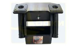 Стол для эхолота с АКБ и 2-мя держателями спиннинга №3