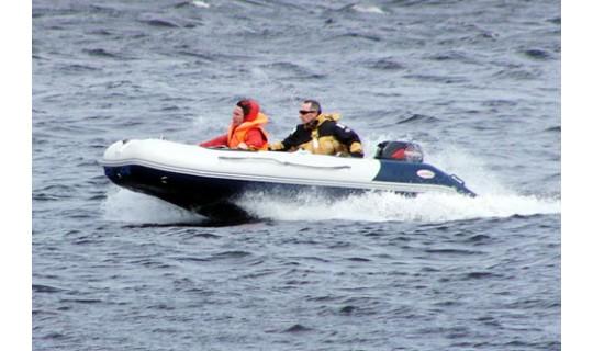 Надувная лодка Badger Heavy Duty 370 AL