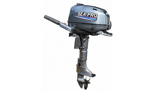 Четырехтактный мотор лодочный подвесной SEA-PRO F 5S